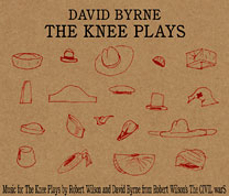 David Byrne The Knee Plays CD cover